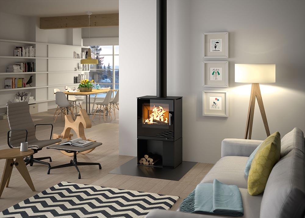 kamin fen kaminofen. Black Bedroom Furniture Sets. Home Design Ideas